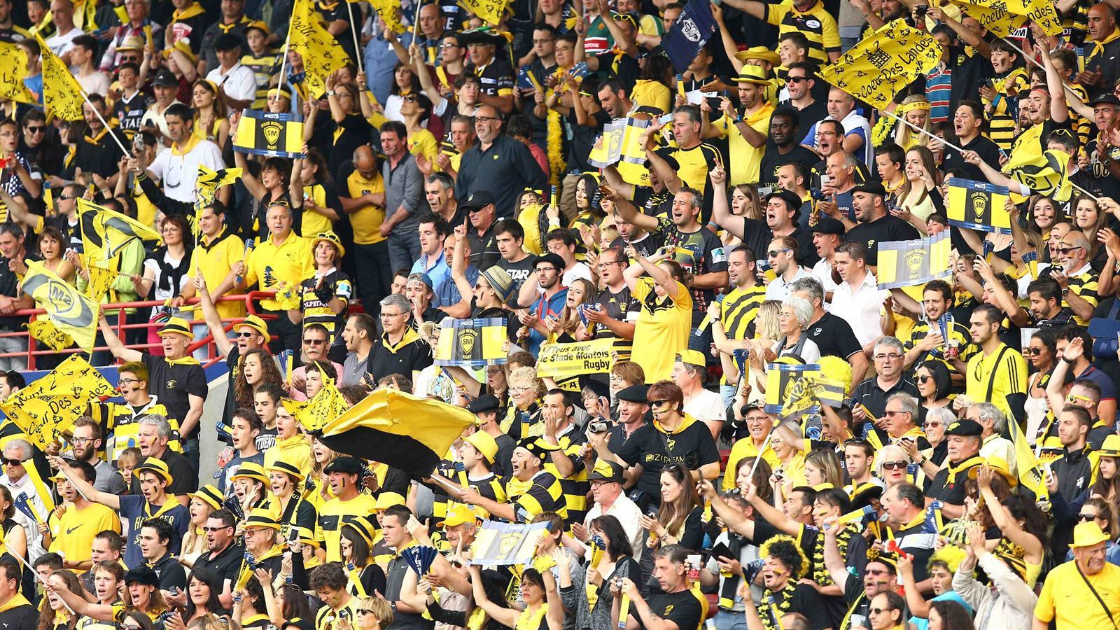 Le public de Mont-de-Marsan a fait beaucoup de bruit durant cette finale - 24 mai 2015