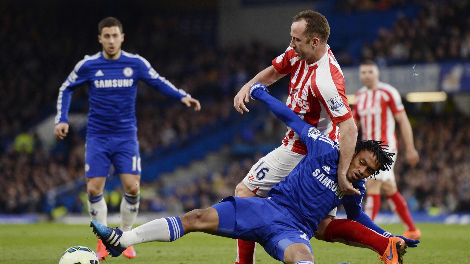 Cuadrado  ne s'est pas imposé à Chelsea