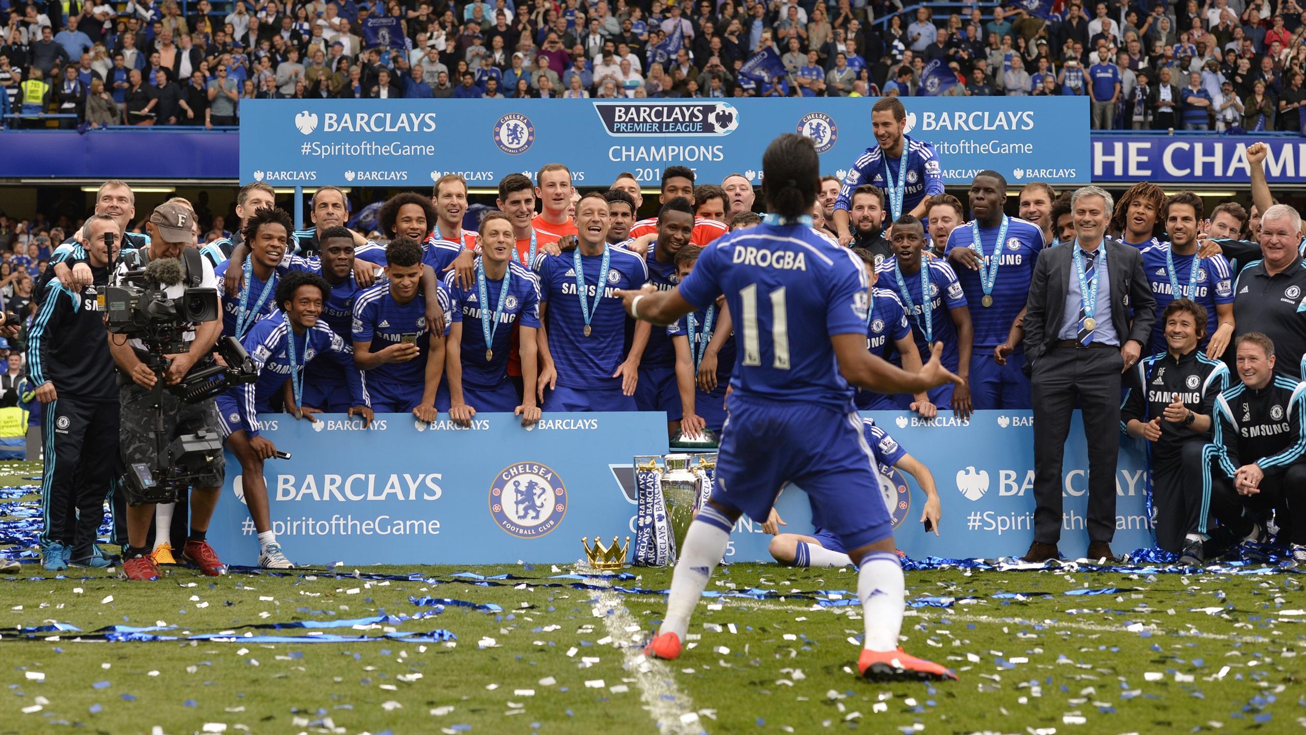 Chelsea ve Didier Drogba