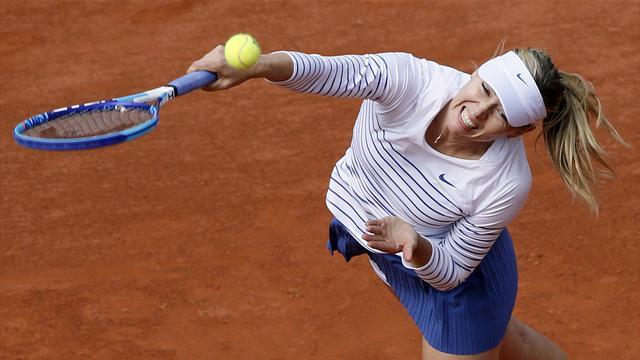 La terre a tremblé : Sharapova prend la porte
