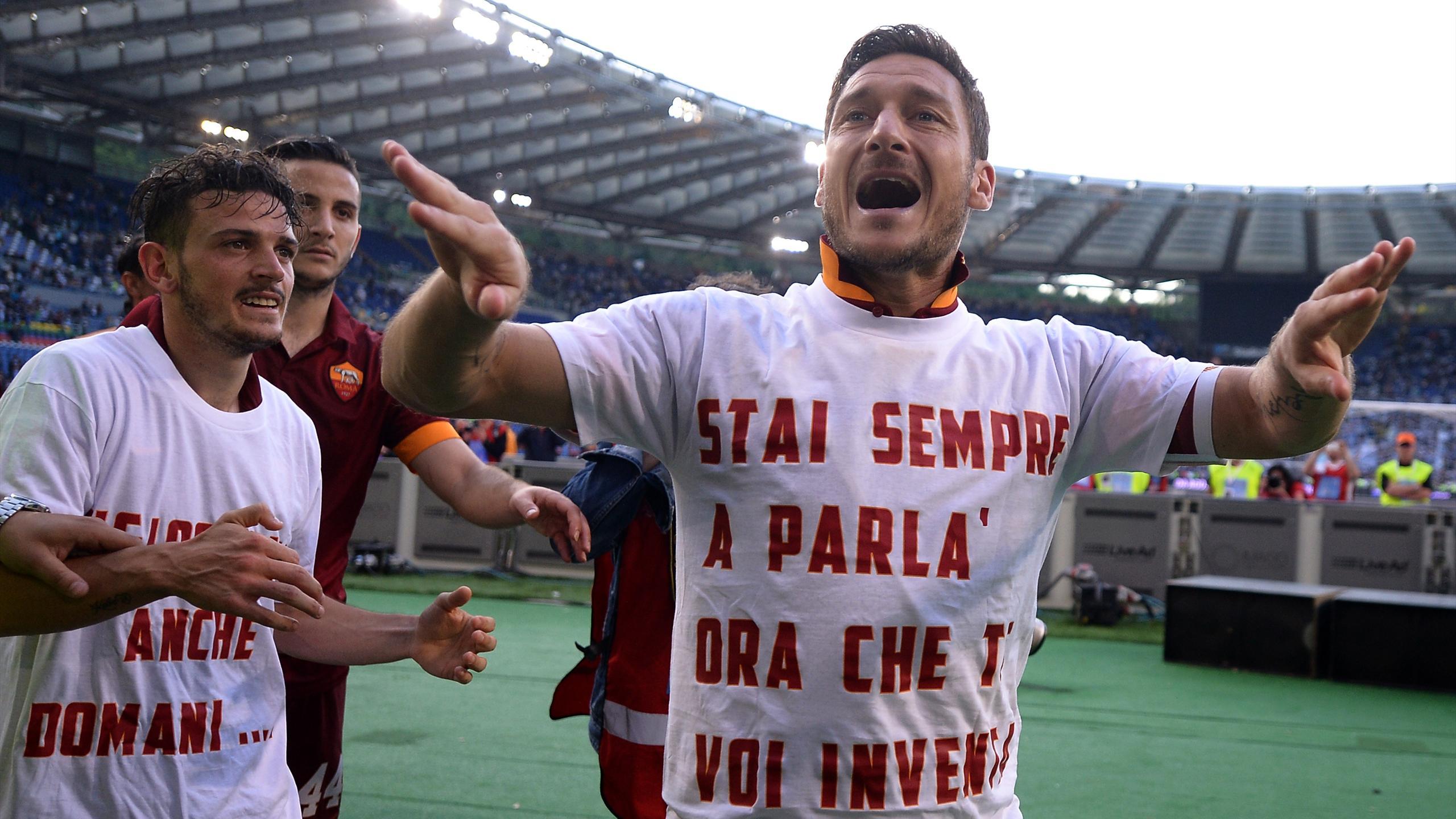 Francesco Totti Roma 2015 AFP