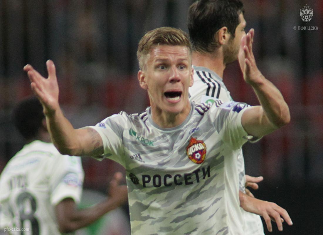 Понтус Вернблум (ЦСКА) против «Рубина»