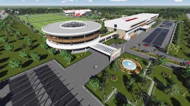 Antalyaspor tesisleri projesi