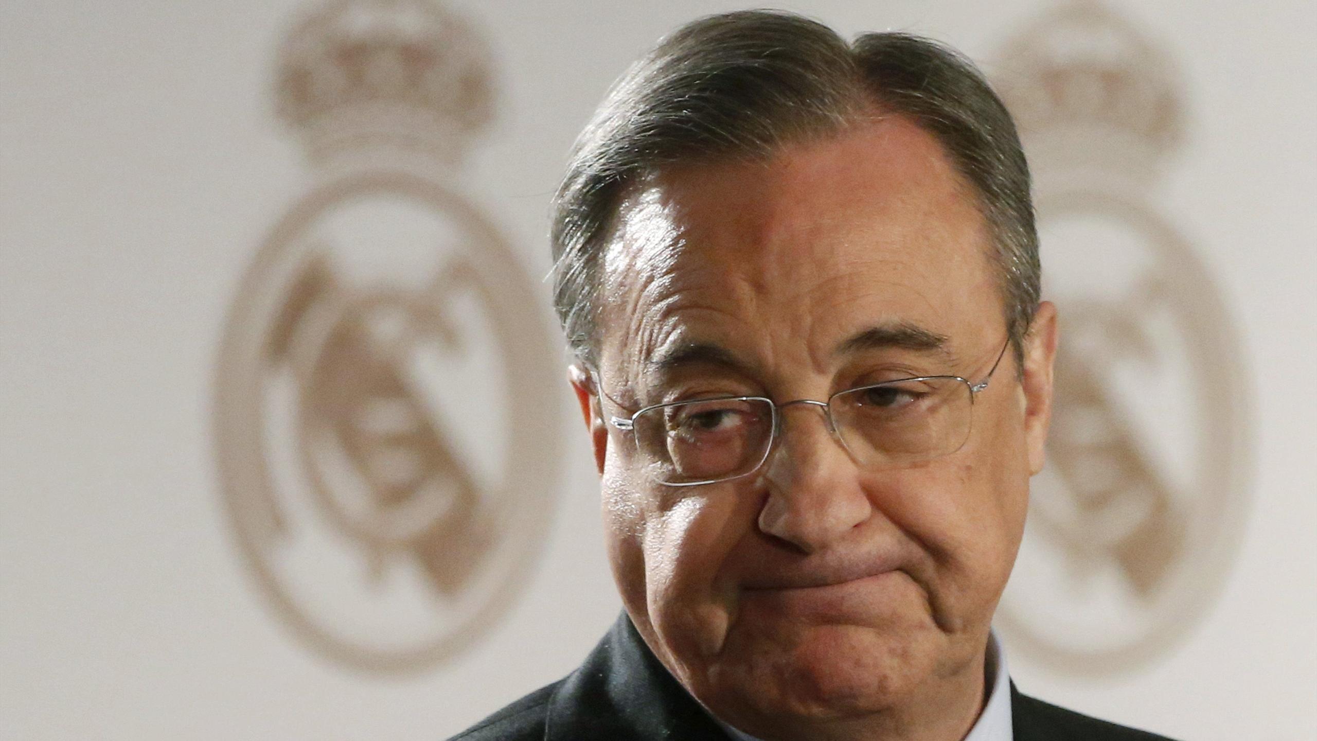 Florentino Perez, le président du Real Madrid