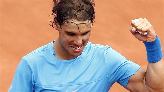 Un oeil sur Roland : Attention, Nadal positive