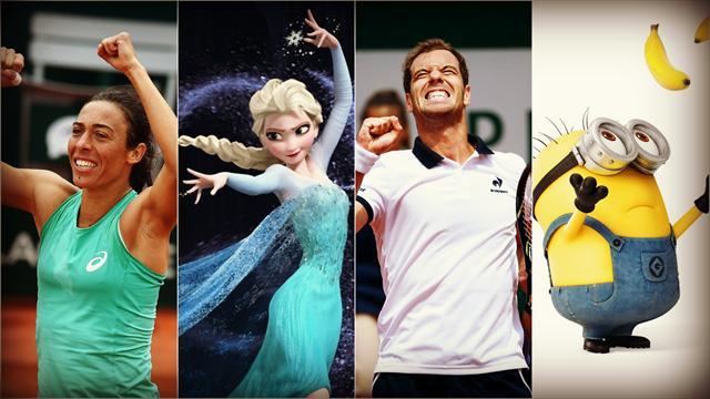 Tennis : Schiavone reine des neiges, Gasquet fait fondre les minions : Roland-Garros en LOL et WTF