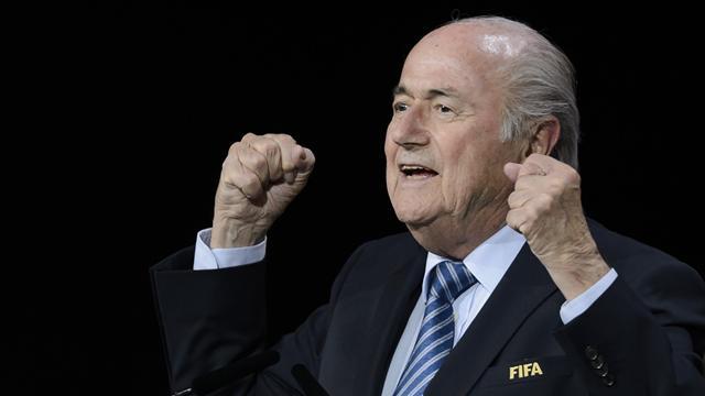 Blatter dénonce un complot mené par les Etats-Unis et l'UEFA