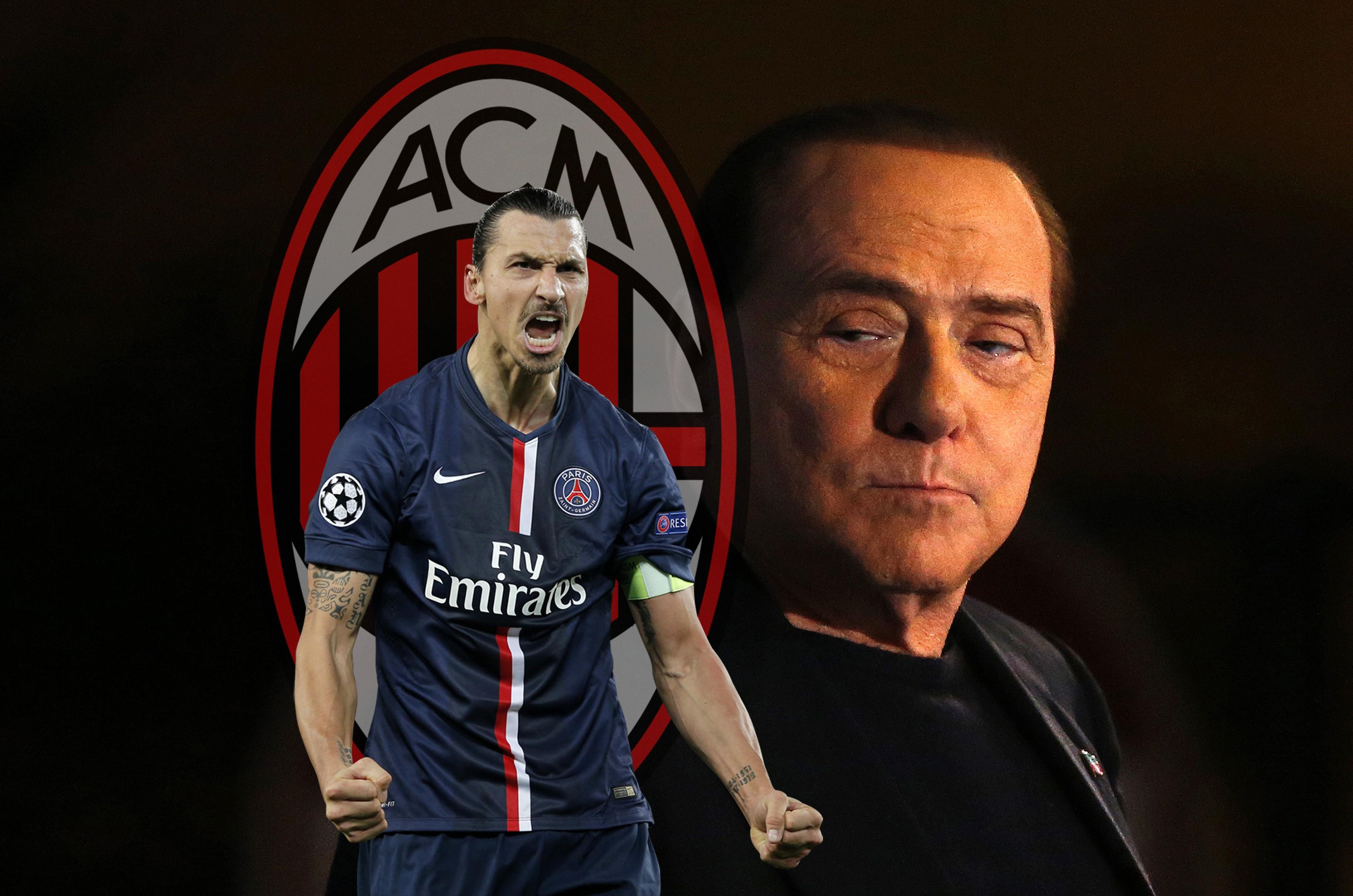 Златан Ибрагимович и слухи о переходе в «Милан»