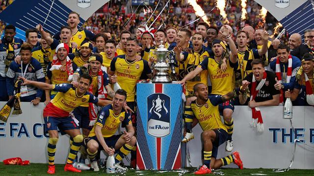 Arsenal et Wenger aux anges et dans les livres d'histoire