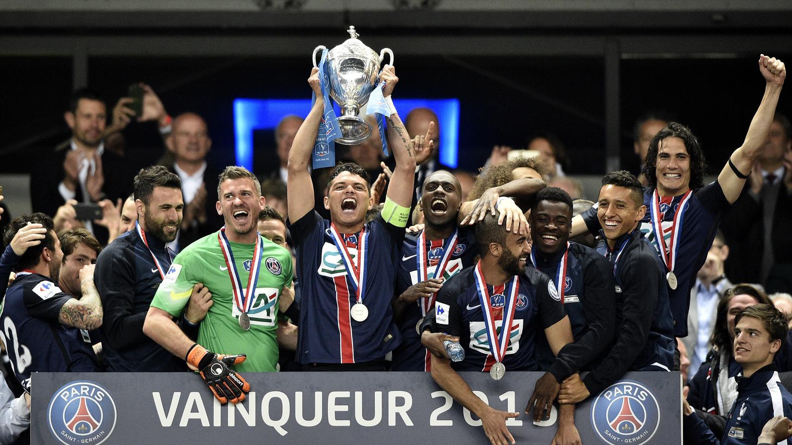 Video coupe de france la remise du troph e au psg - Calendrier de la coupe de france 2015 ...