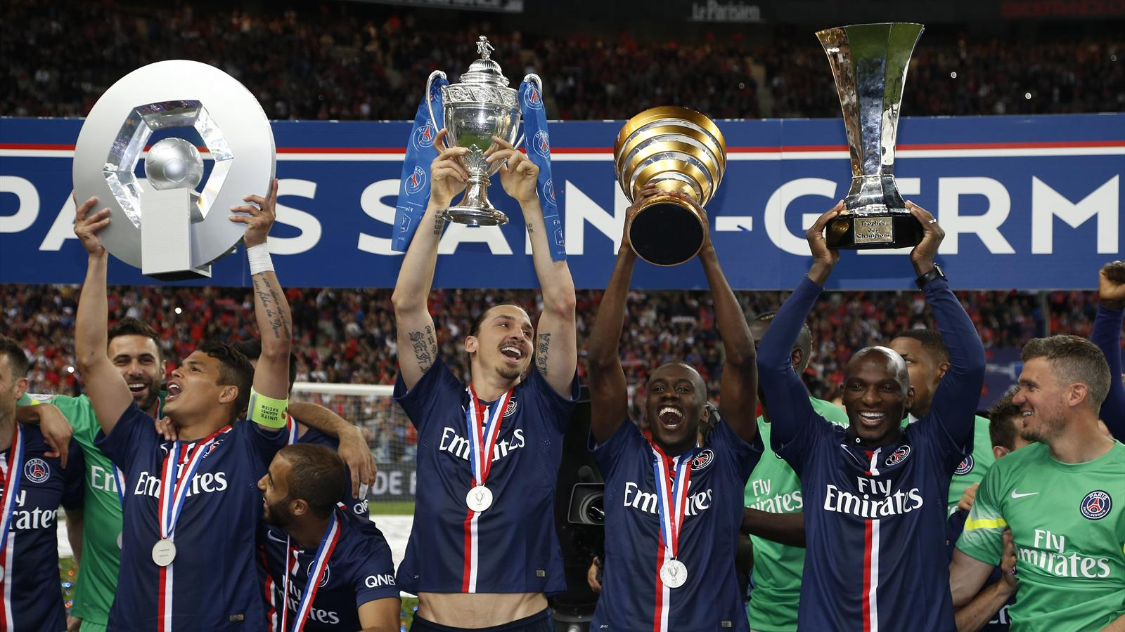 Ce fut plus compliqu que pr vu mais le psg tient son quadrupl historique coupe de france - Coupe de france 2014 2015 ...