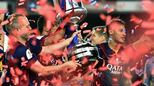 Lionel Messi magic inspires Barcelona to Copa Del Rey glory