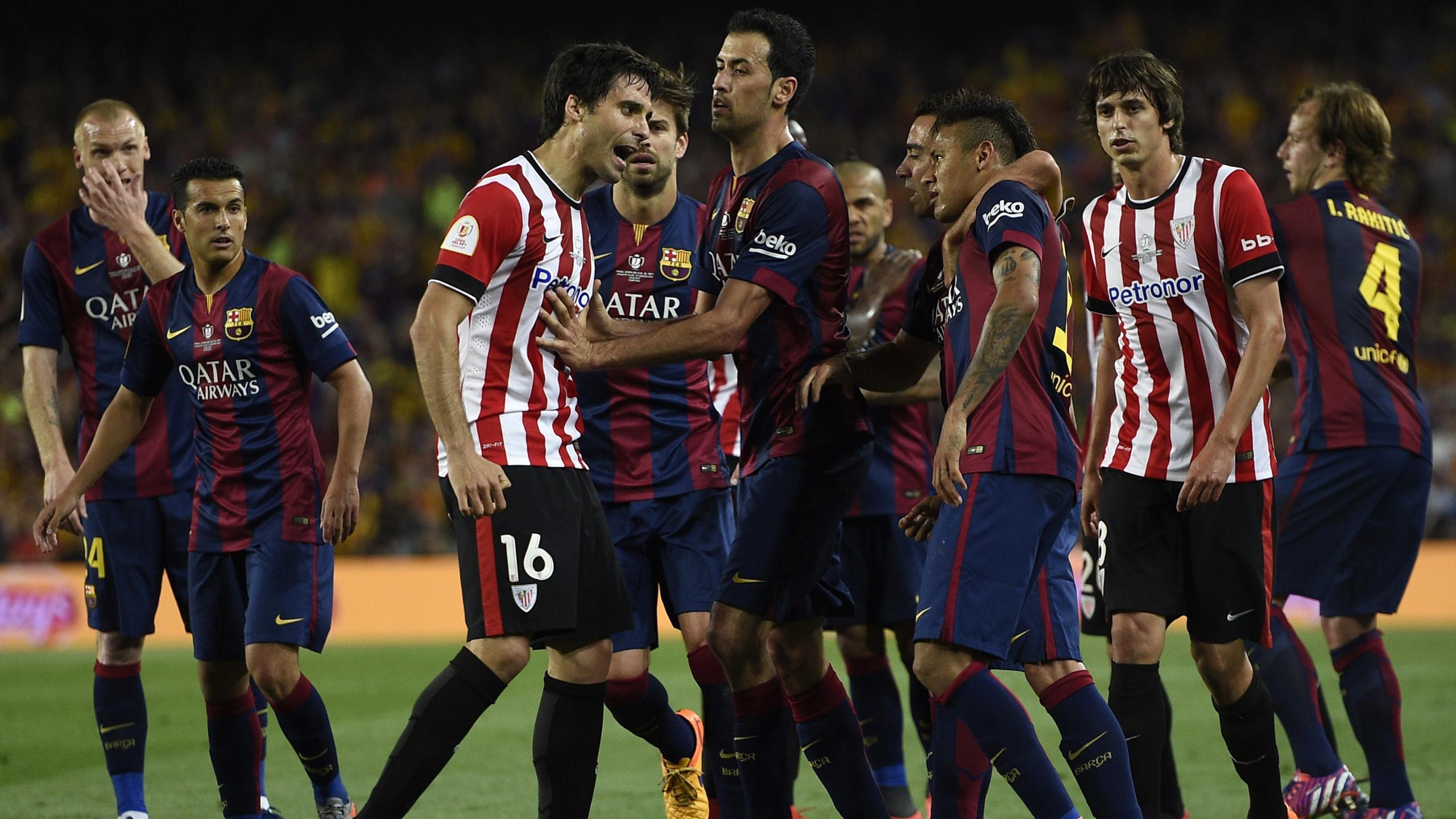 Барселона атлетик бильбао суперкубок испании