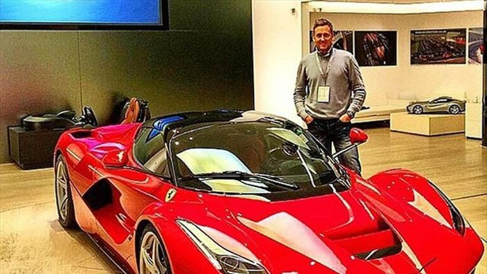 Ian Poulter's car collection - well, he has earned £24 million for