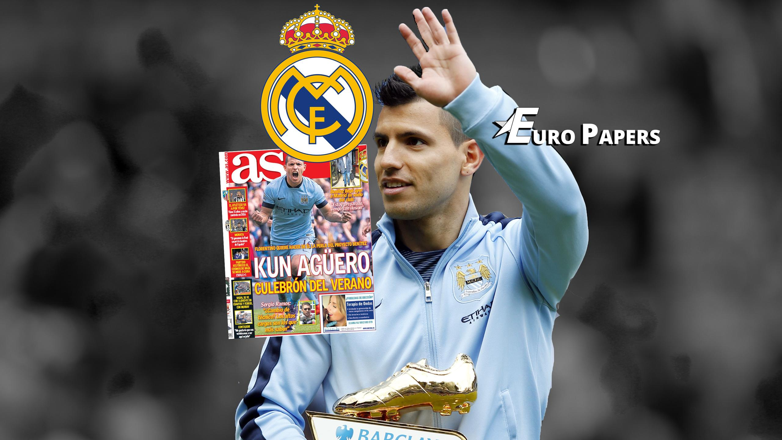 Real Madrid 'to smash transfer record for Sergio Aguero' - Watch Euro Papers now!