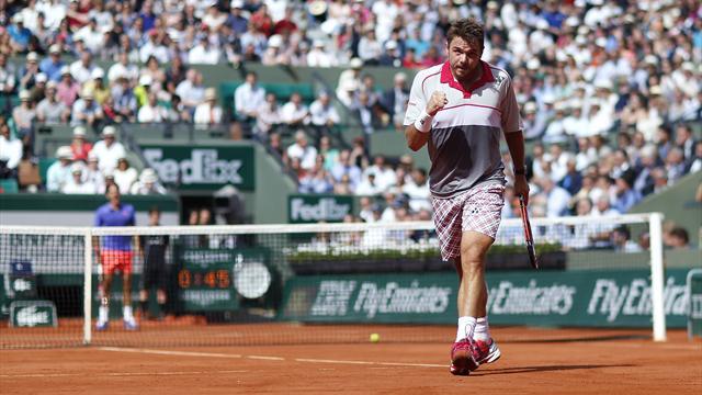 Impressionnant de maîtrise, Wawrinka s'offre Federer