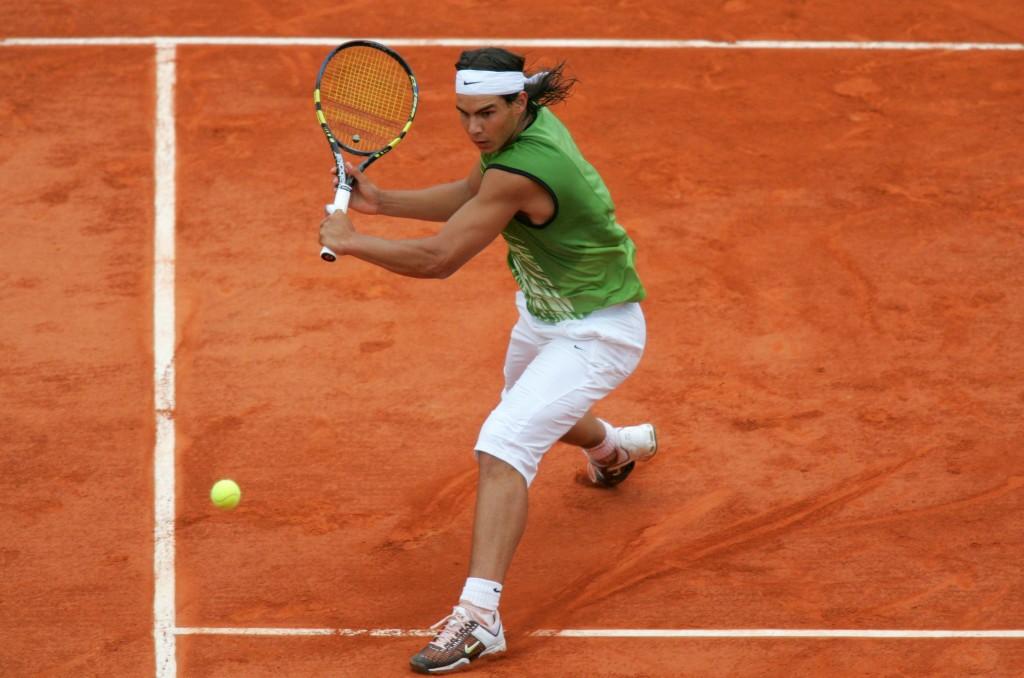 Rafael Nadal coi pinocchietti