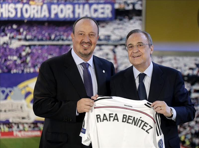 Рафа Бенитес и Флорентино Перес
