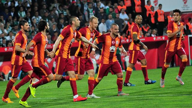 Galatasaray 3-2 Bursaspor (MAÇ ÖZETİ)