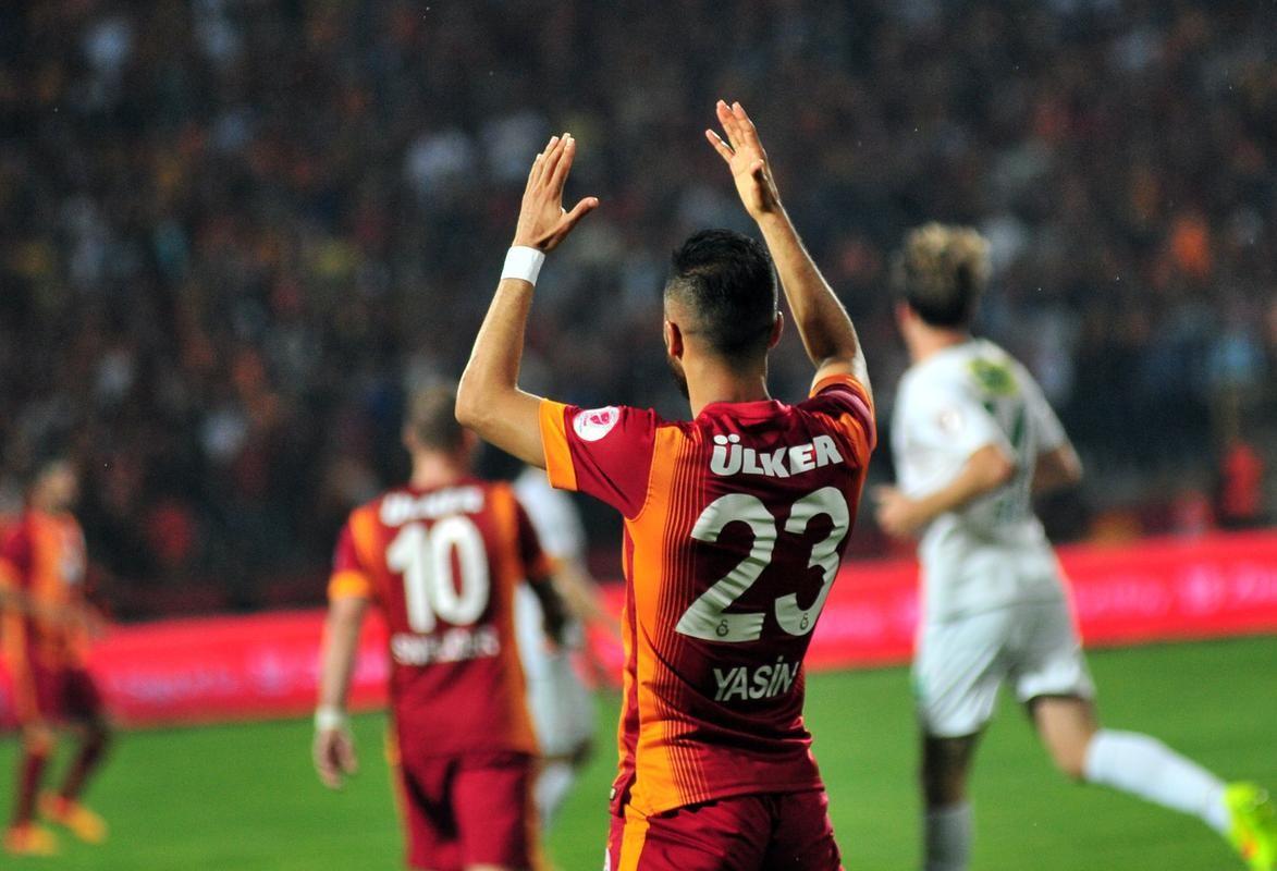 Bursaspor - Galatasaray Yasin Öztekin
