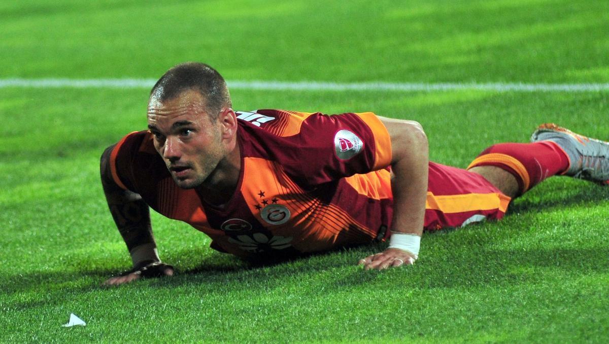 Bursaspor - Galatasaray Wesley Sneijder