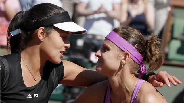 Lucie Safarova beats Ana Ivanovic to reach first major final