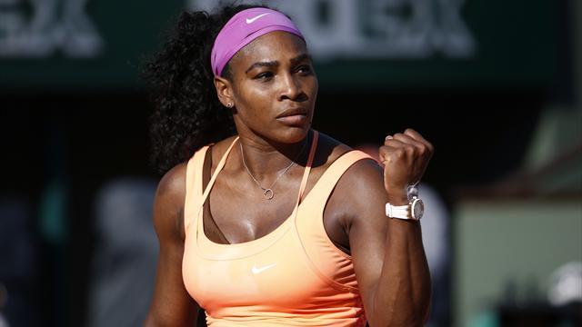 Serena opens defence against Rybarikova, could face Azarenka in quarter-finals
