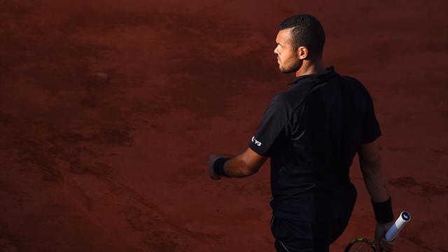 Tennis : De la finale de Coupe Davis � Roland-Garros : le parcours du combattant Tsonga