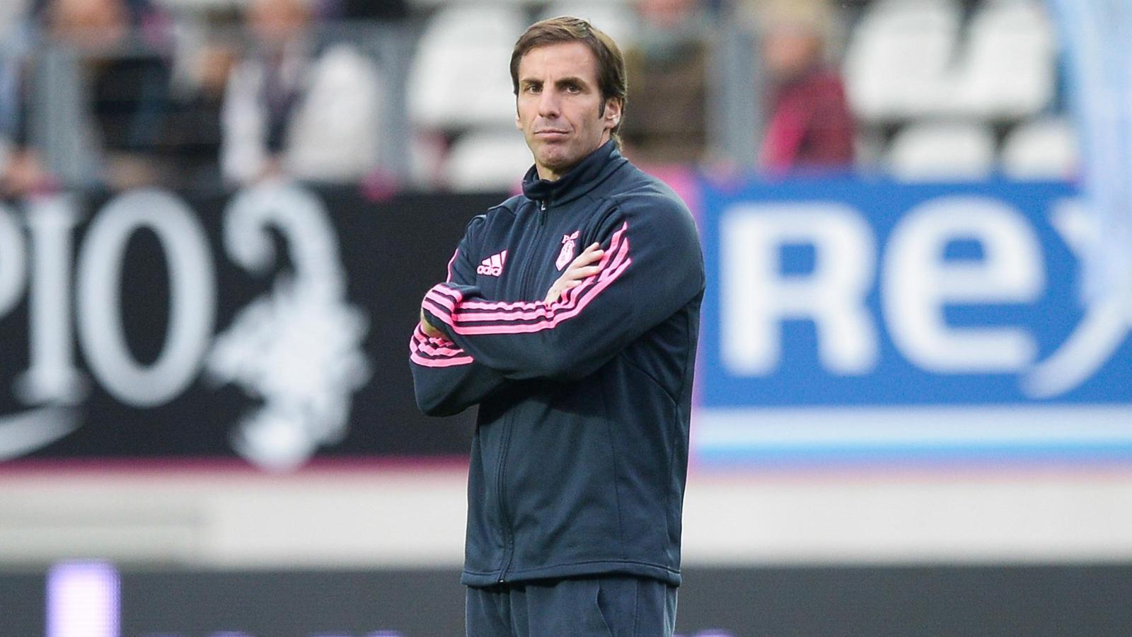 Gonzalo Quesada, le manager du Stade français