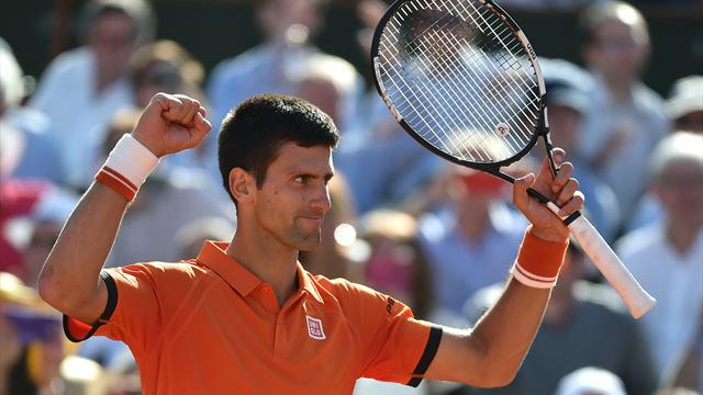 Djokovic a eu besoin de cinq sets, mais c'est bien lui qui défiera Wawrinka