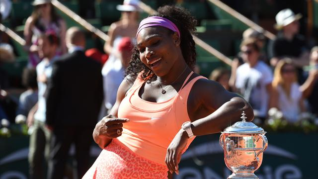 The main contenders to challenge Serena in the women's draw