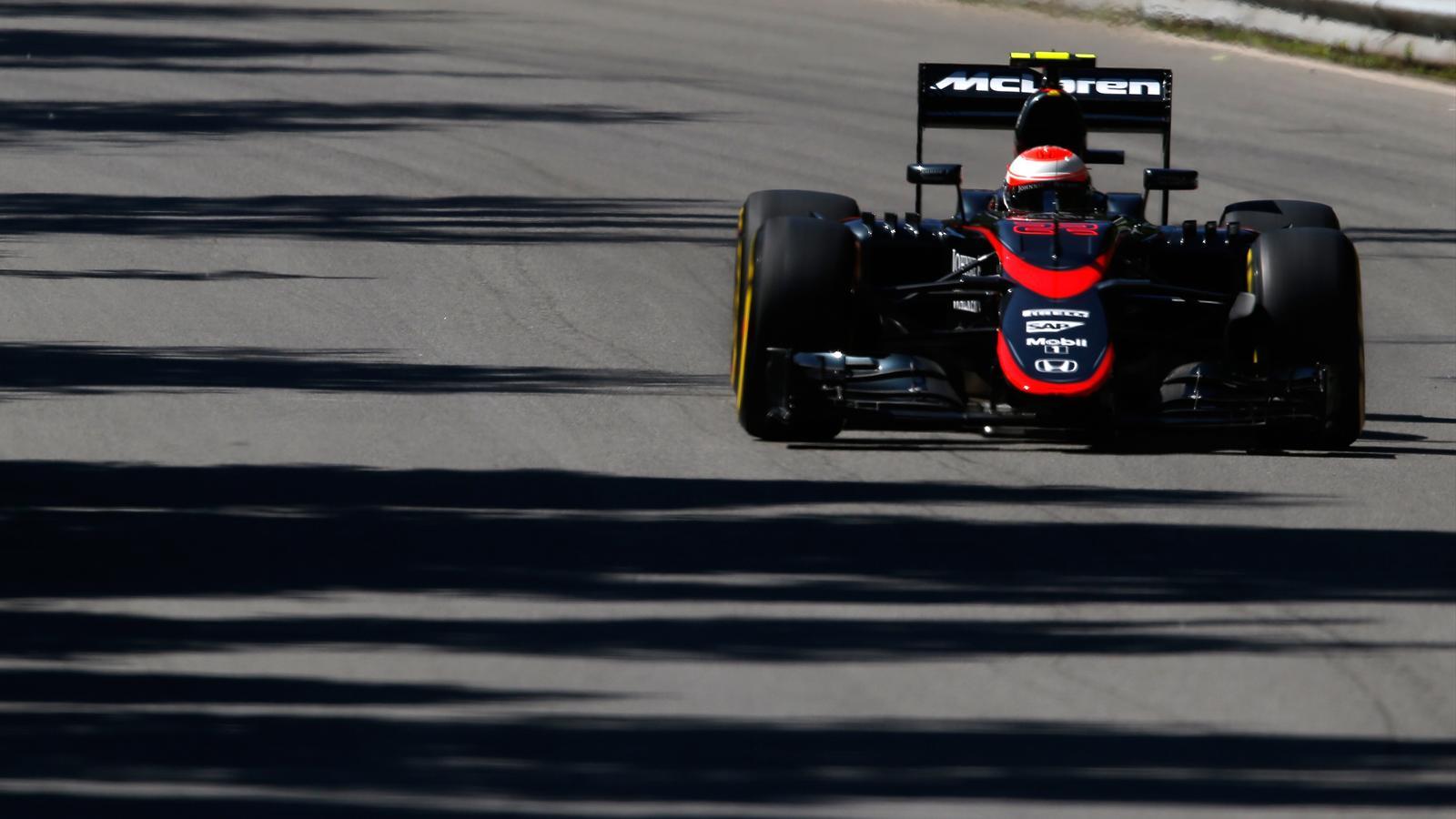 Jenson Button (McLaren) - GP of Canada 2015