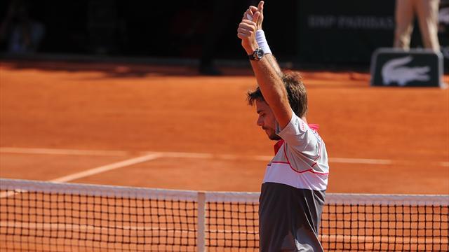 Tennis : Message aux siffleurs  : </b>L&#226;chez un peu Wawrinka