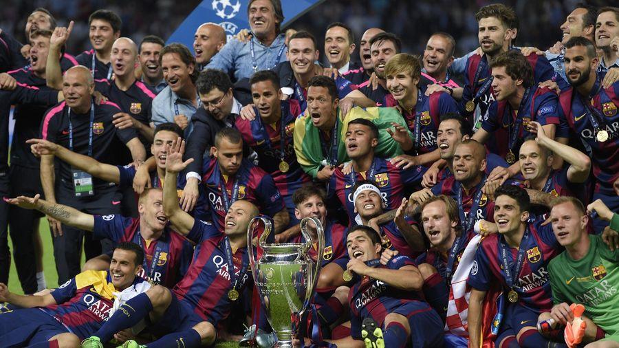 Barcelone, vainqueur de la dernière Ligue des champions