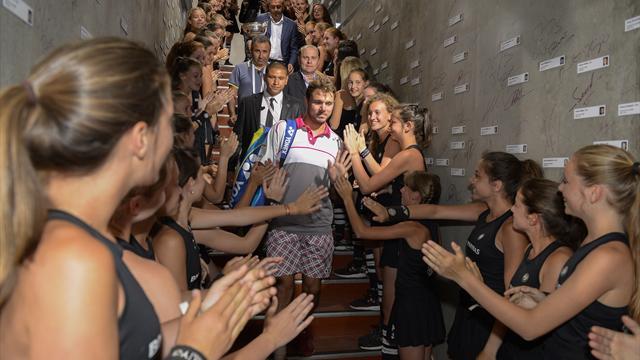 Вавринка: «Вы сможете смотреть на мои шорты каждый день в музее «Ролан Гаррос»