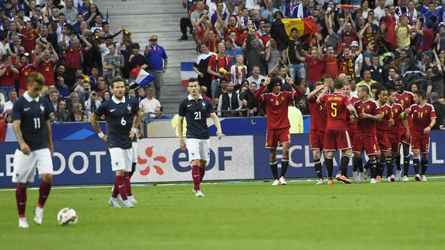 score france belgique football