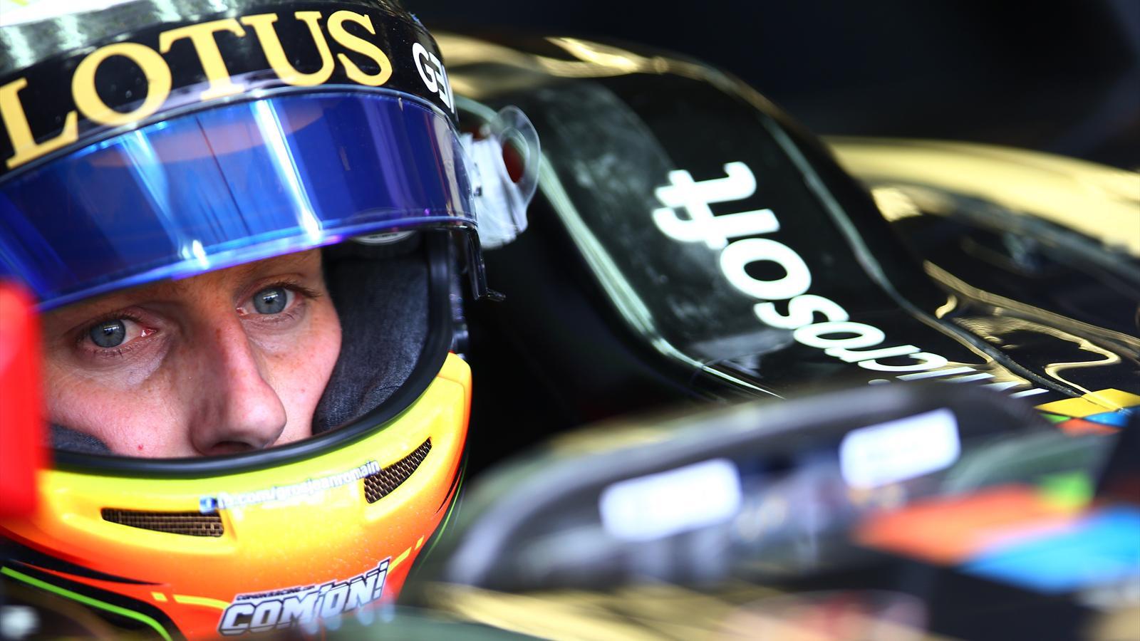 Romain Grosjean (Lotus) - GP of Canada 2015