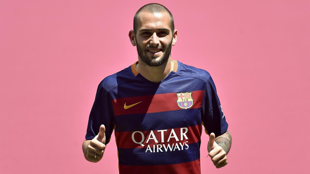 the best attitude c5321 9adc6 Barcelona sign Aleix Vidal from Sevilla in £16.7m deal ...