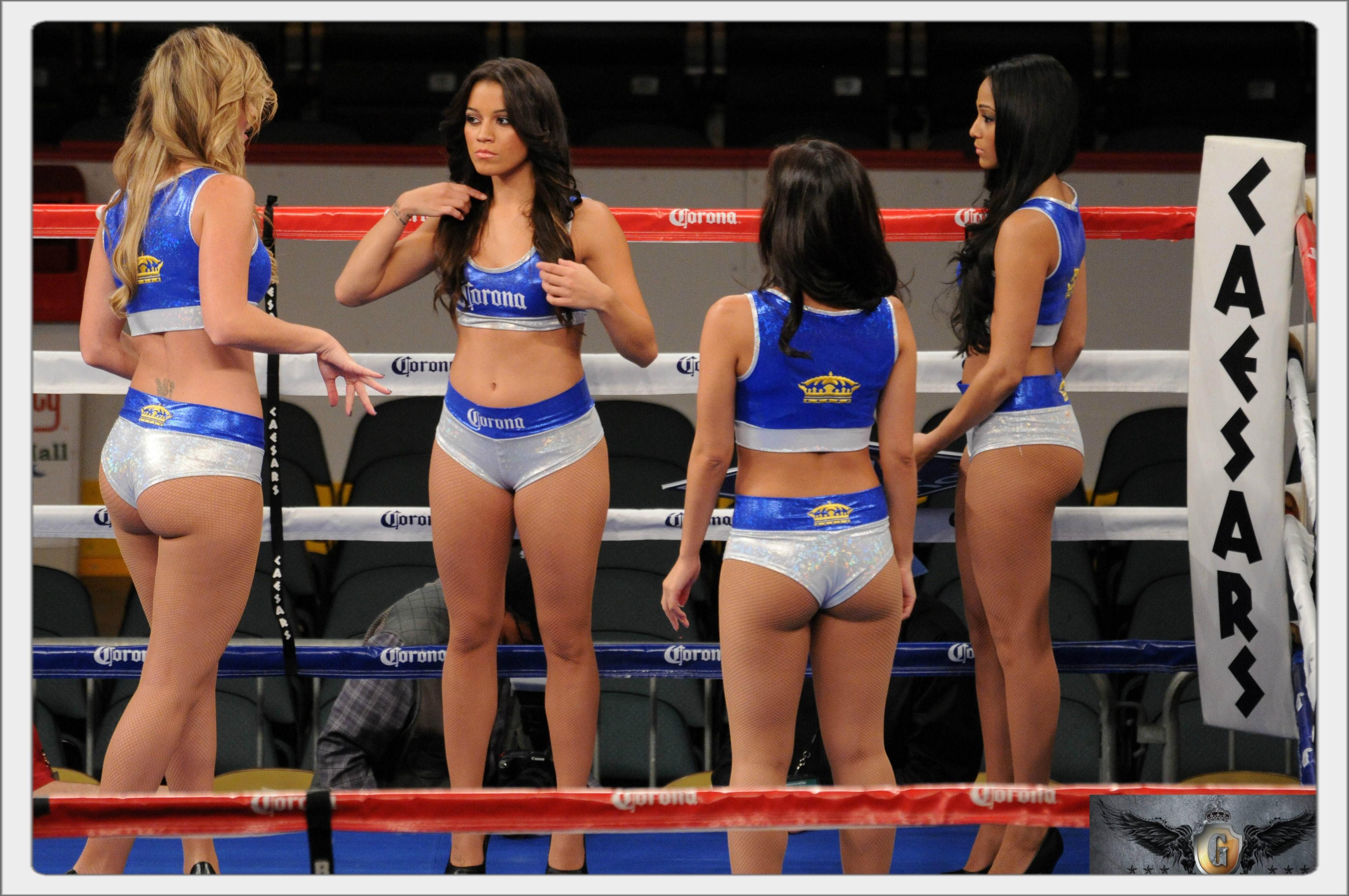 Секс девушки из баксерского ринга