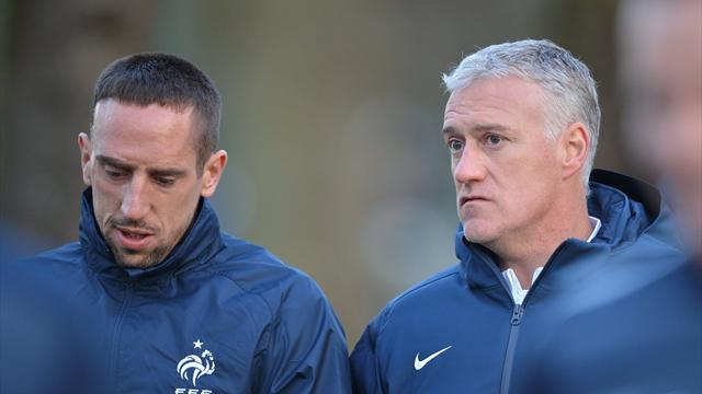 Et si Ribéry était candidat à l'Euro ?