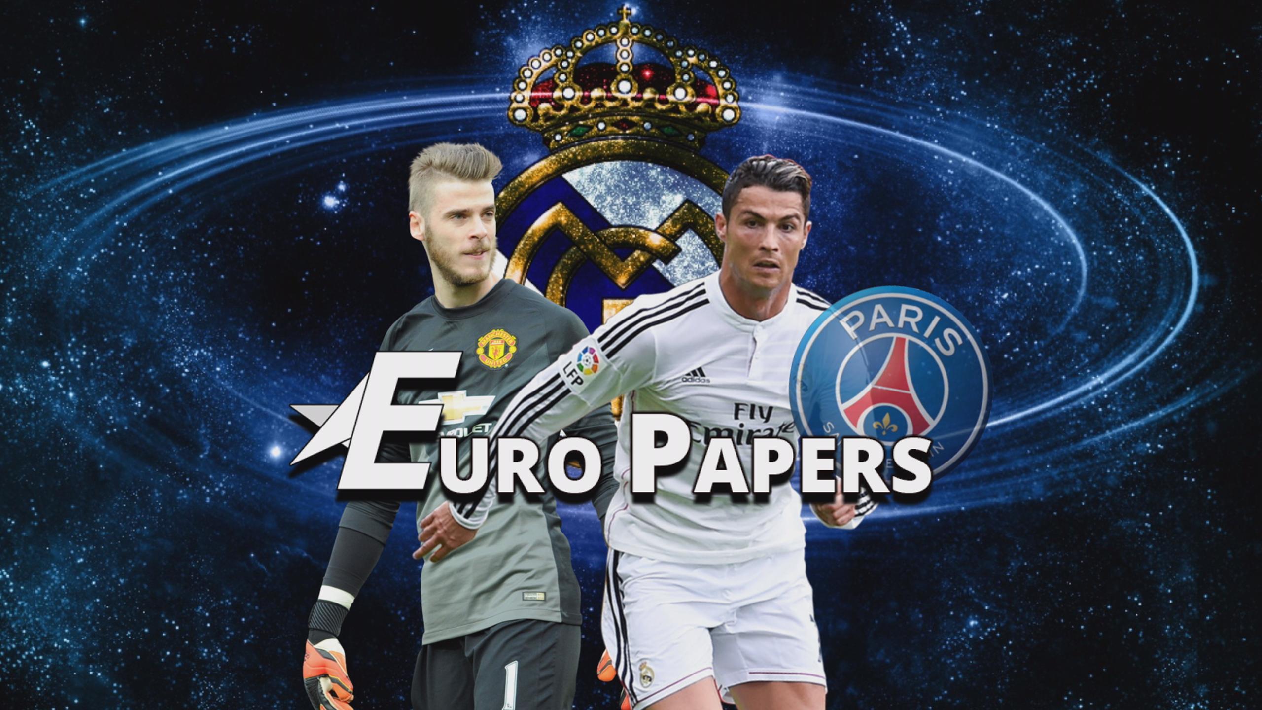 De Gea nears Real Madrid - as PSG threaten Ronaldo move - Euro Papers
