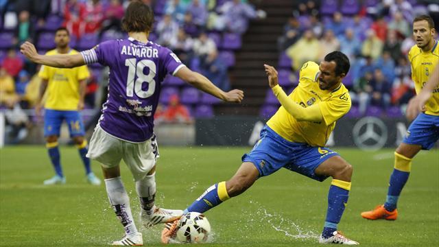 Las Palmas pip Valladolid in play-off final thriller