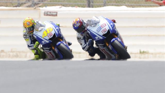 """Rossi: """"Con Lorenzo così in forma sarà dura"""""""