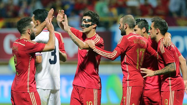 L'Espagne a pris le temps mais a dompté le Costa Rica