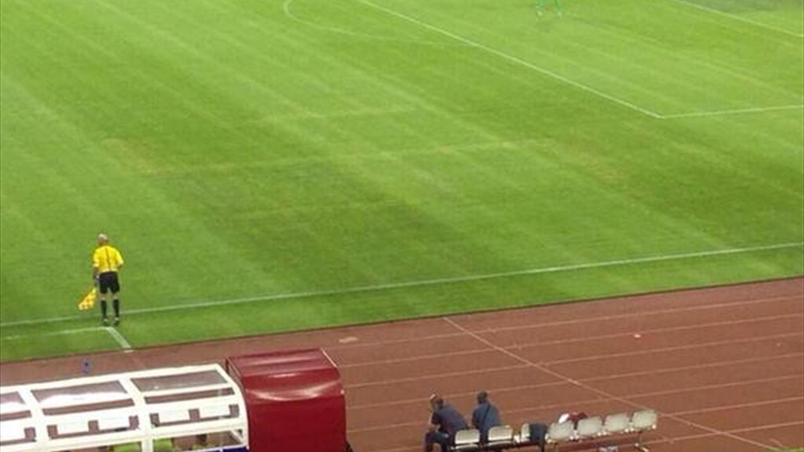 Italy complain after Swastika is found on turf in Croatia - Euro 2016 - Football - Eurosport