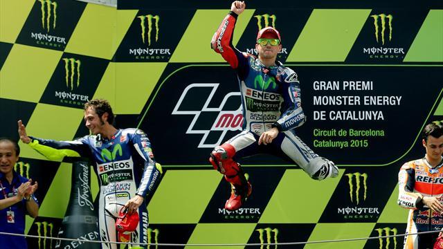 Лоренсо выиграл «Гран-при Каталонии»