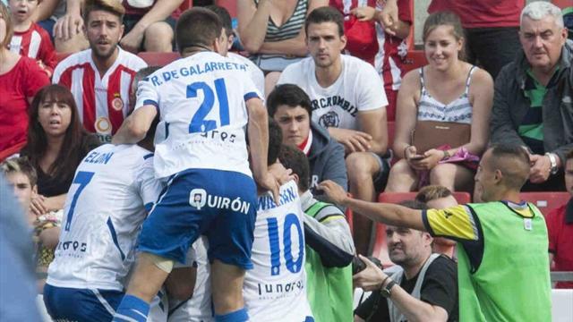 Real Zaragoza'dan muhteşem geri dönüş