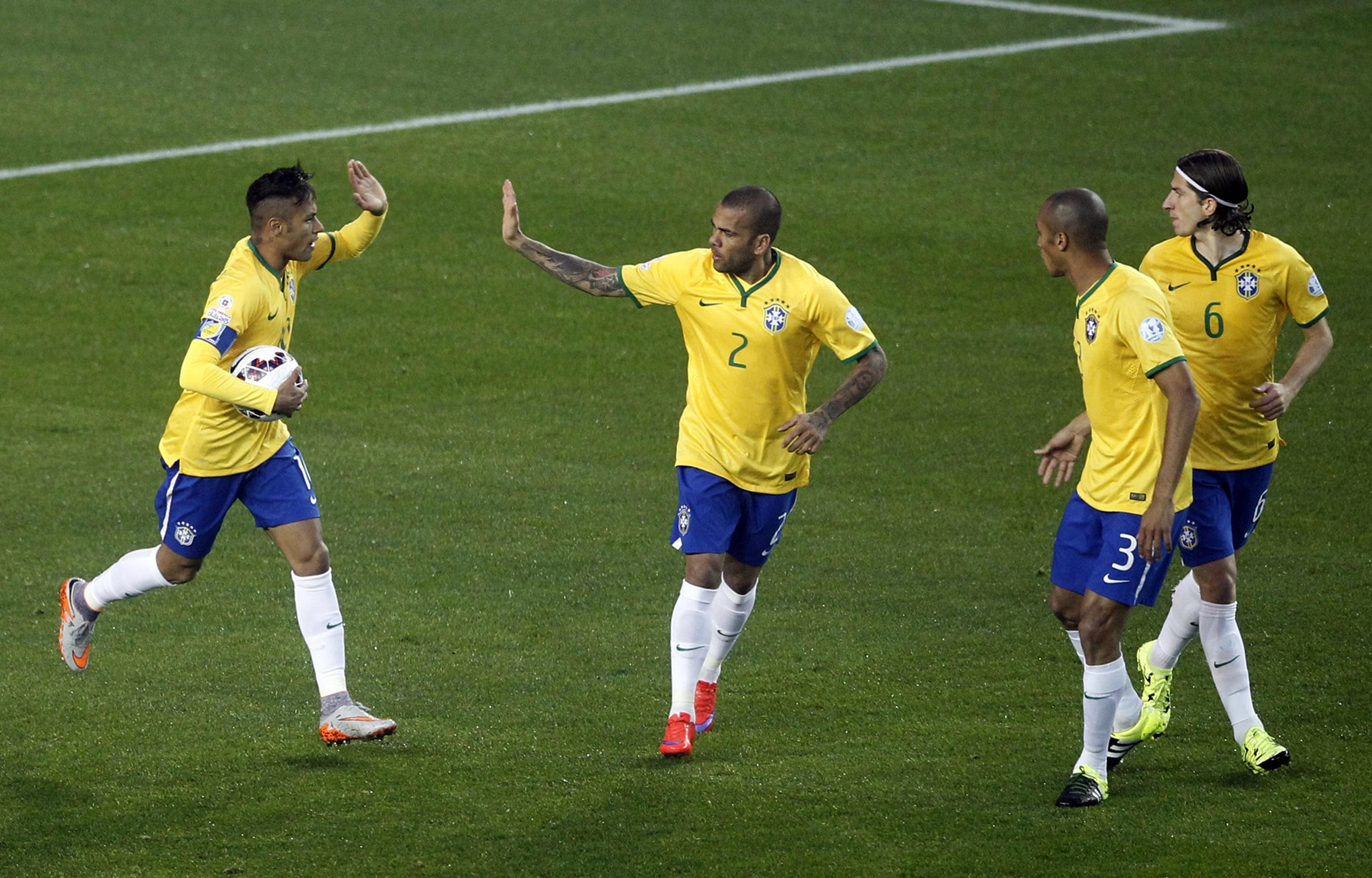 Сколько неймар получает в сборной бразилии
