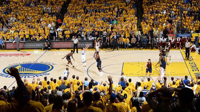 MVP sahnede! Stephen Curry Warriors'ı uçurdu
