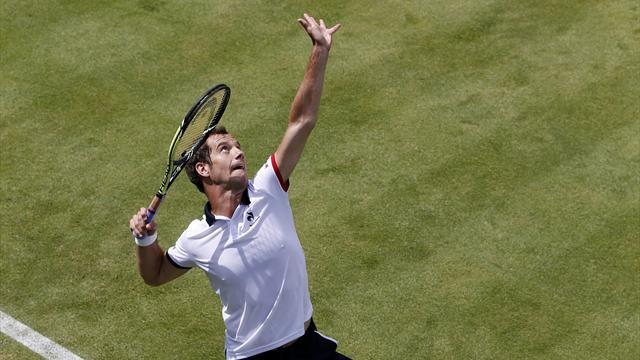 Tennis : Gasquet a d�roul� et attend De Schepper